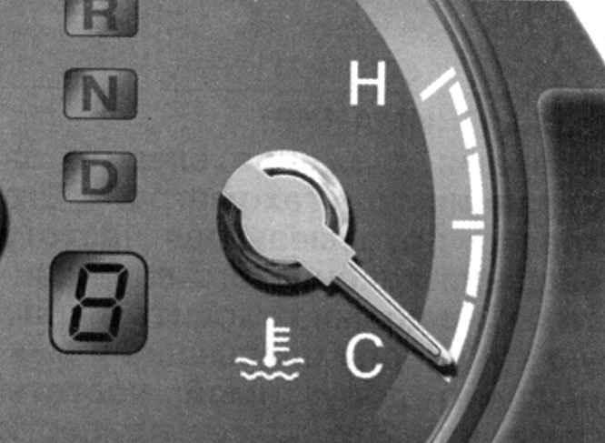 Комбинация приборов и контрольные лампы Hyundai Santa Fe