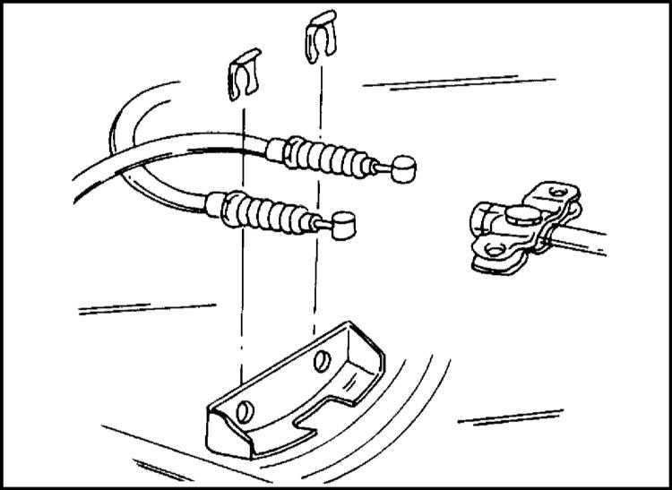 Подвеска задних колес и задний мост Opel Frontera