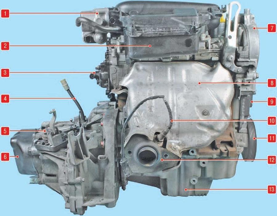 Устройство двигателя рено дастер 2.0 в картинках