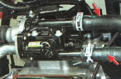 Проверка шлангов и соединений системы охлаждения | Силовой агрегат | Руководство Chevrolet