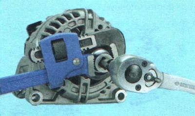 Ремонт генератора   Электрооборудование   Руководство Chevrolet