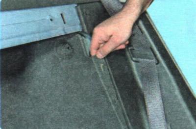 Замок багажника б/у Chevrolet Aveo I (T200/T250) Шевроле Авео T200 / T250 с доставкой в Москву