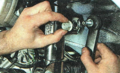Замена деталей стабилизатора поперечной устойчивости | Шасси | Руководство Chevrolet