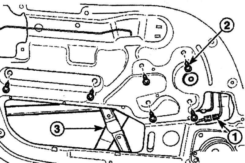 Снятие и установка дверей и их элементов Daewoo Matiz