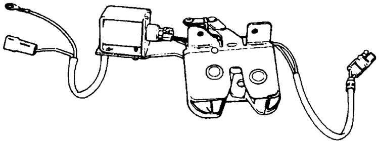 Снятие и установка выключателей, двигателей и датчиков Ford Scorpio