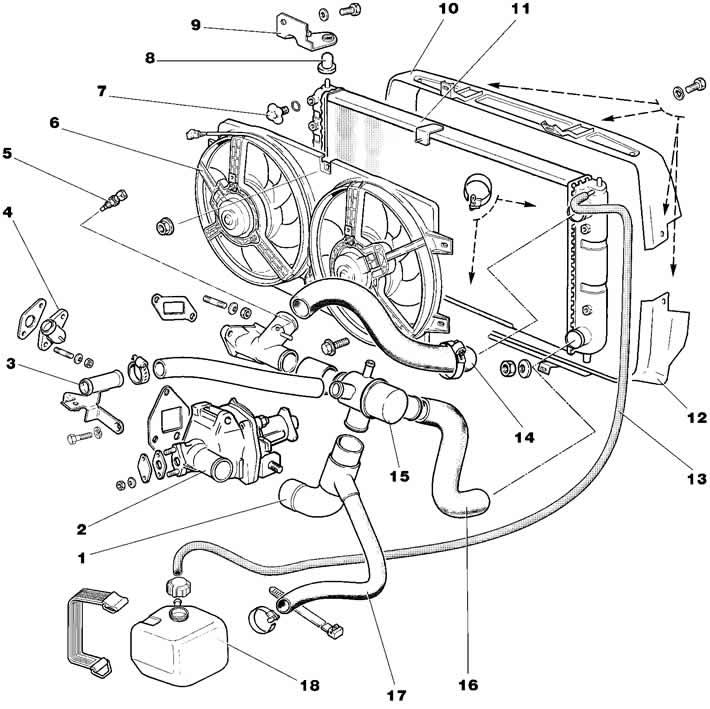 Нива шевроле система охлаждения картинки