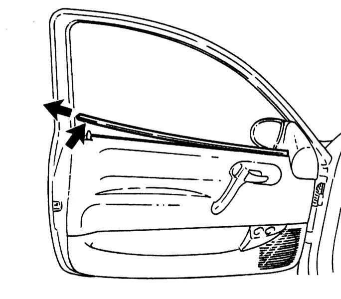 Снятие и установка облицовки дверей Opel Corsa