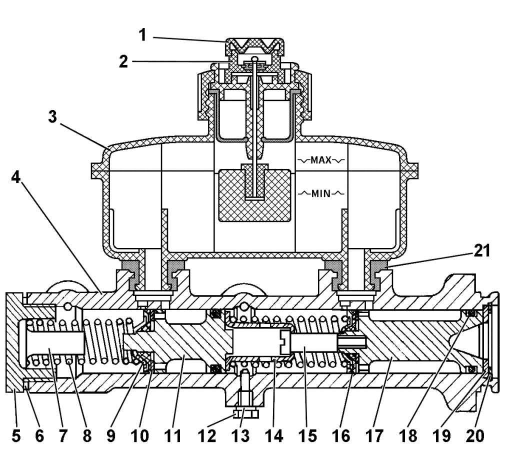 ремонт главного тормозного цилиндра в картинках