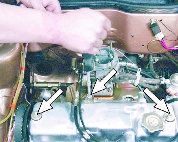 Регулировка зазоров в приводе клапанов ВАЗ 2109