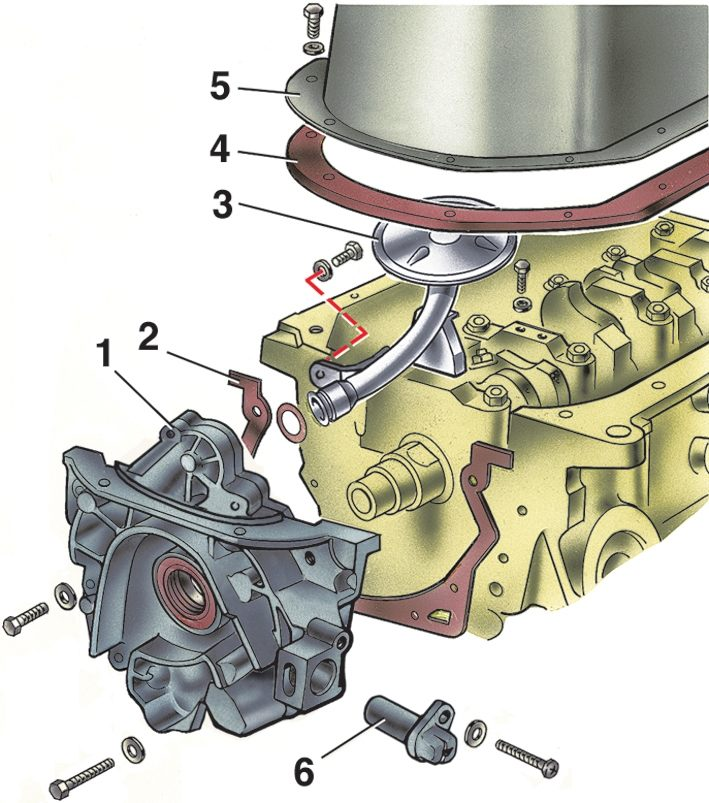Разборка двигателя ВАЗ 2115