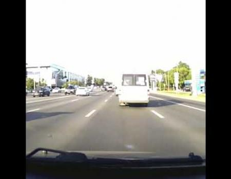 Embedded thumbnail for ДТП на Кутузовском проспекте