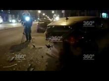 Embedded thumbnail for Массовое ДТП на Вавилова в Москве
