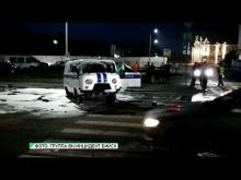 Embedded thumbnail for 71-летняя пенсионерка перевернула полицейский УАЗ в Бийске. ВИДЕО