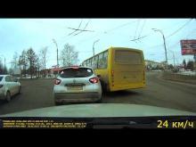 Embedded thumbnail for Renault Kaptur столкнулся автобус