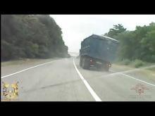 Embedded thumbnail for Грузовик с отказавшими тормозами едва не попал в ДТП на Ставрополье