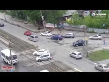 Embedded thumbnail for Въехал в машину ДПС